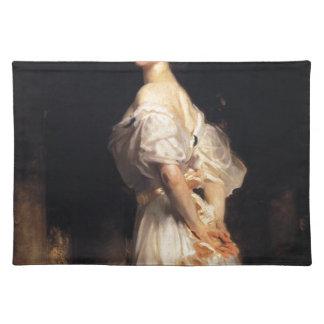John Singer Sargent - Nancy Astor - Fine Art Placemat