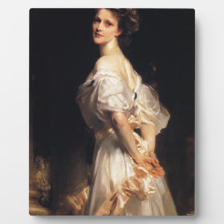John Singer Sargent - Nancy Astor - Fine Art Plaque