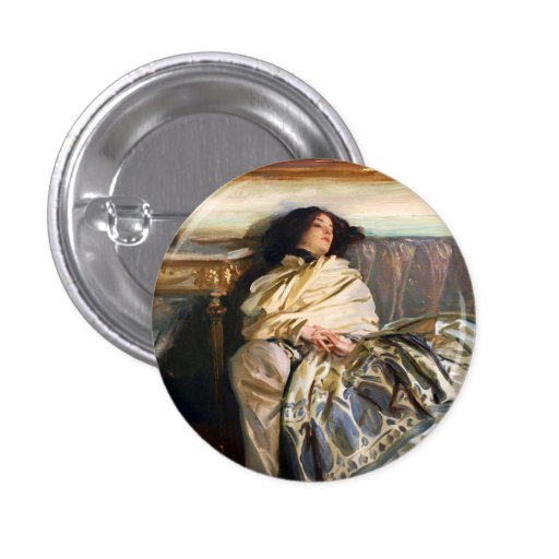 John Singer Sargent Nonchaloir Button