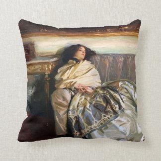 John Singer Sargent Nonchaloir Pillow