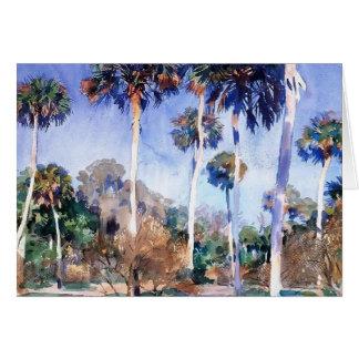 John Singer Sargent- Palms Card