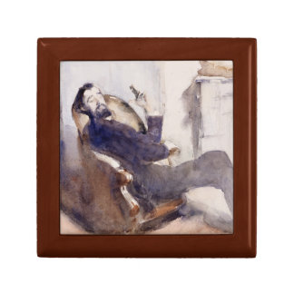 John Singer Sargent -Portrait of Paul-Cesar Helleu Trinket Boxes