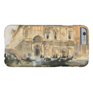 John Singer Sargent - Rio dei Mendicanti, Venice Barely There iPhone 6 Case