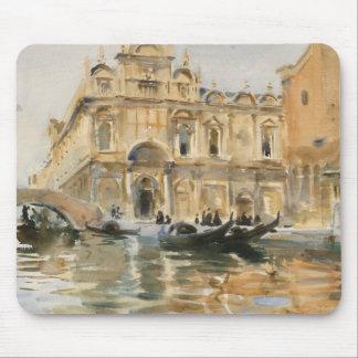 John Singer Sargent - Rio dei Mendicanti, Venice Mouse Pad