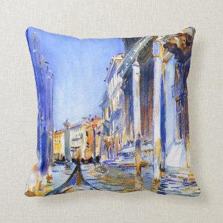 John Singer Sargent Rio dell'Angelo Venice Pillow