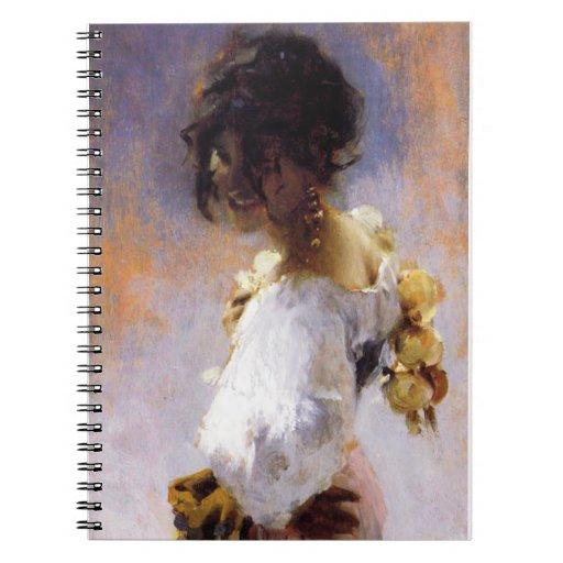 John Singer Sargent Rosina Notebook