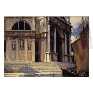 John Singer Sargent- Santa Maria della Salute Card