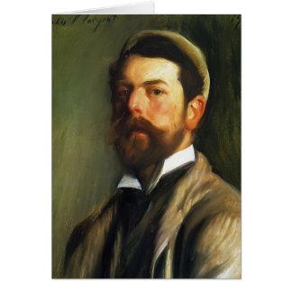 John Singer Sargent- Self-Portrait Card
