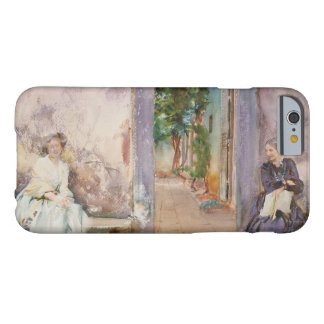 John Singer Sargent - The Garden Wall Barely There iPhone 6 Case