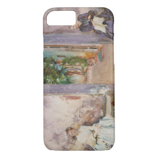 John Singer Sargent - The Garden Wall iPhone 7 Case