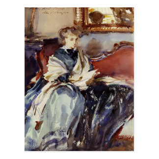 John Singer Sargent: The Green Dress Postcard