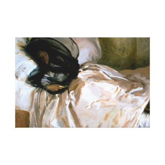 John Singer Sargent - The Mosquito Net Canvas Print