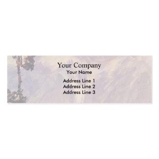 John Singer Sargent: The Tyrol Business Card