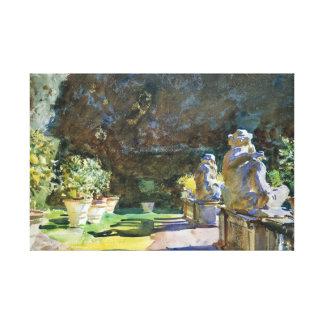 John Singer Sargent - Villa di Marlia, Lucca Canvas Print