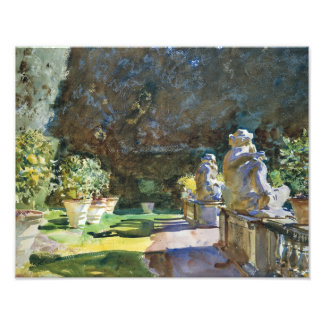 John Singer Sargent - Villa di Marlia, Lucca Photo