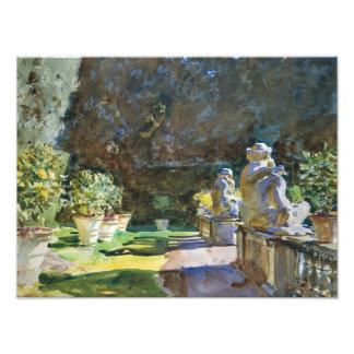 John Singer Sargent - Villa di Marlia, Lucca Photo Art