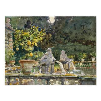 John Singer Sargent - Villa di Marlia, Lucca Photograph