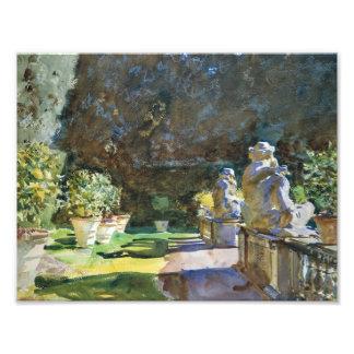 John Singer Sargent - Villa di Marlia, Lucca Photographic Print