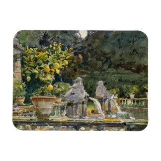 John Singer Sargent - Villa di Marlia, Lucca Rectangular Photo Magnet