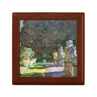John Singer Sargent - Villa di Marlia, Lucca Trinket Boxes