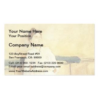 John Singer Sargent- Violet Sargent Business Card Templates