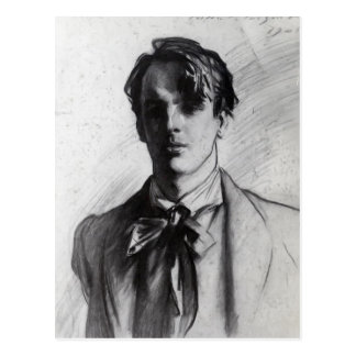 John Singer Sargent: William Butler Yeats Postcard