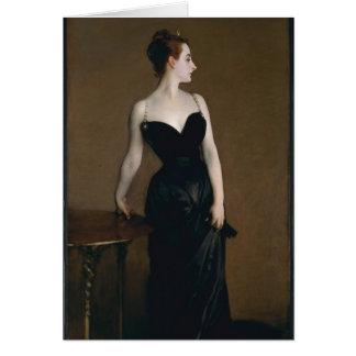 John Singer Sargent's Portrait of Madame X Stationery Note Card