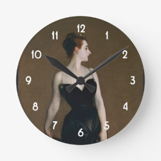 John Singer Sargent's Portrait of Madame X Clock