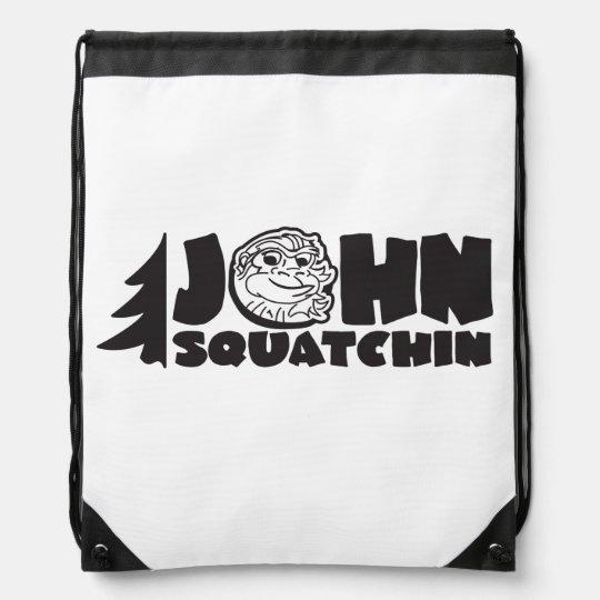 John Squatchin Bag Drawstring Bags