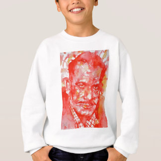 JOHN STEINBECK - watercolor portrait Sweatshirt