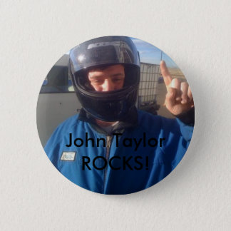 John Taylor 2 Inch Round Button