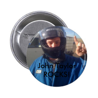 John Taylor 2 Inch Round Button