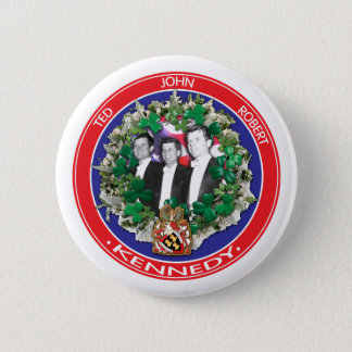 John Ted Robert Kennedy in tuxedos 2 Inch Round Button