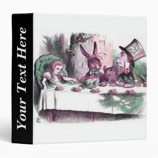 John Tenniel Alice's Mad Tea Party Pastels Binder
