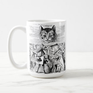 John Tenniel Cheshire Cat from Alice in Wonderland Coffee Mug