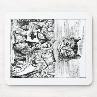 John Tenniel Cheshire Cat from Alice in Wonderland Mouse Pad