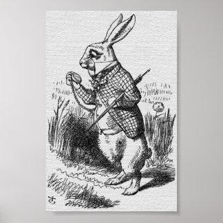 John Tenniel Illustration Alice in Wonderland Poster