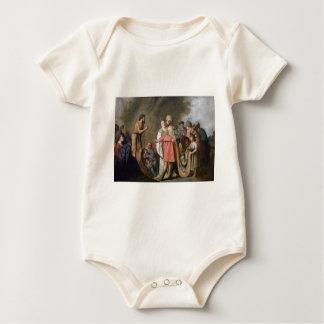 John the Baptist Preaching Baby Bodysuit