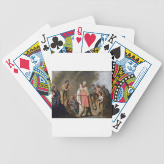 John the Baptist Preaching Bicycle Playing Cards