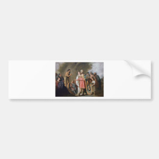 John the Baptist Preaching Bumper Sticker