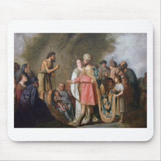 John the Baptist Preaching Mouse Pad