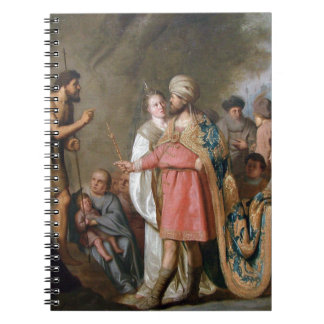 John the Baptist Preaching Spiral Notebook