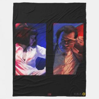 John & Uma Fleece Blanket