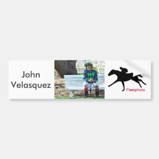 John Velasquez - All Time Money Earner Bumper Sticker
