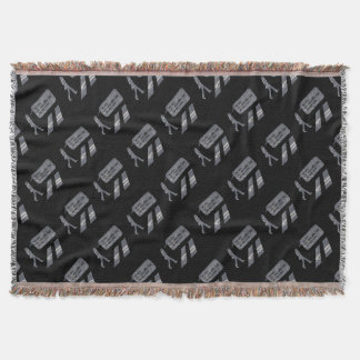 JOHN WALKING WINTER EDITION THROW BLANKET
