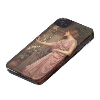 John Waterhouse- Psyche entering Cupid's Garden iPhone 4 Case-Mate Case