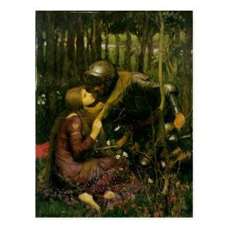 John Waterhouse- The Beautiful Lady Without Pity Postcard
