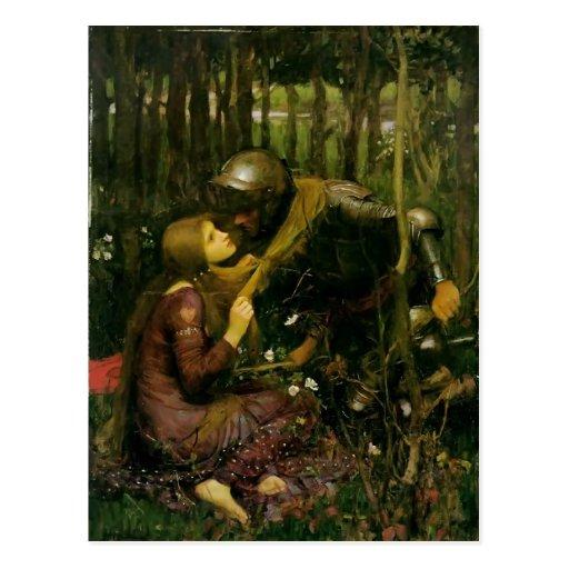 John Waterhouse- The Beautiful Lady Without Pity Postcards