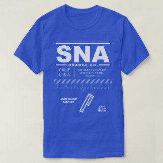 John Wayne  - Orange County Airport SNA T-Shirt