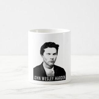 JOHN WESLEY HARDIN OUTLAW DRINKING UTENSIL COFFEE MUG